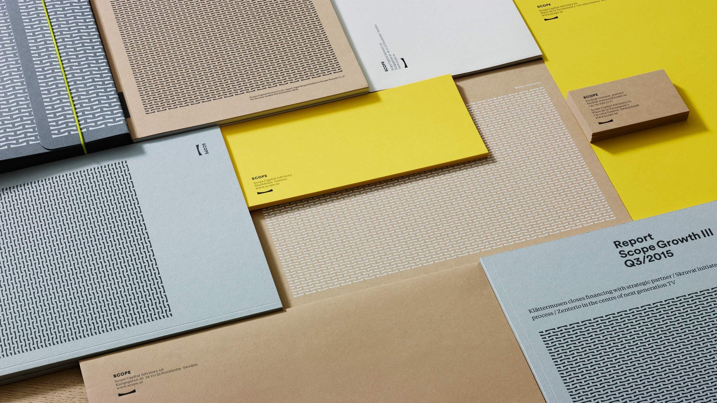 Scope Capital – identity design