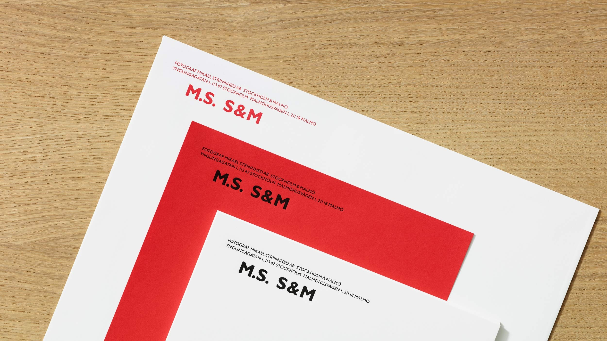 Mikael Strinnhed – graphic identity