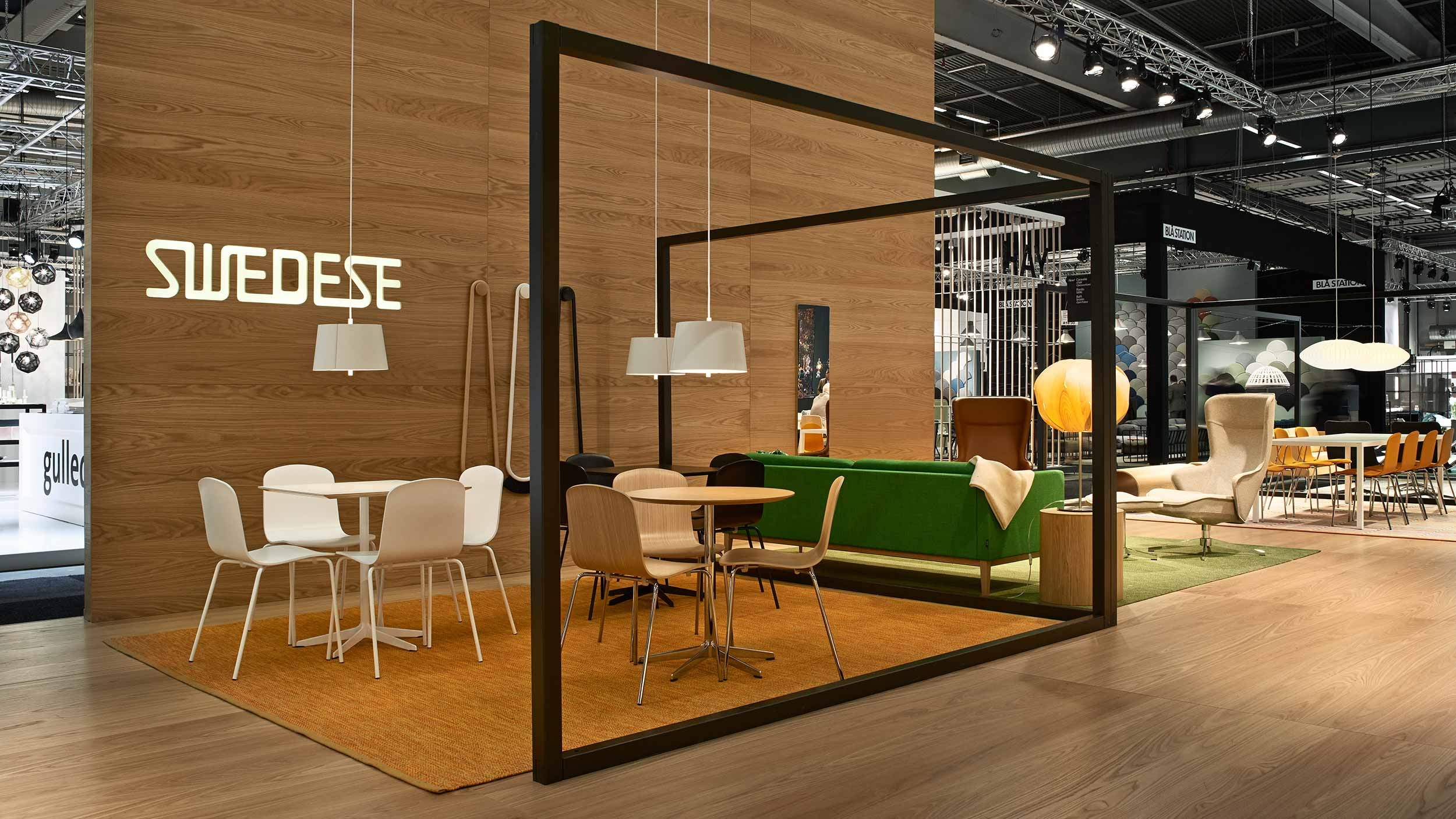 Swedese – stand & exhibition design