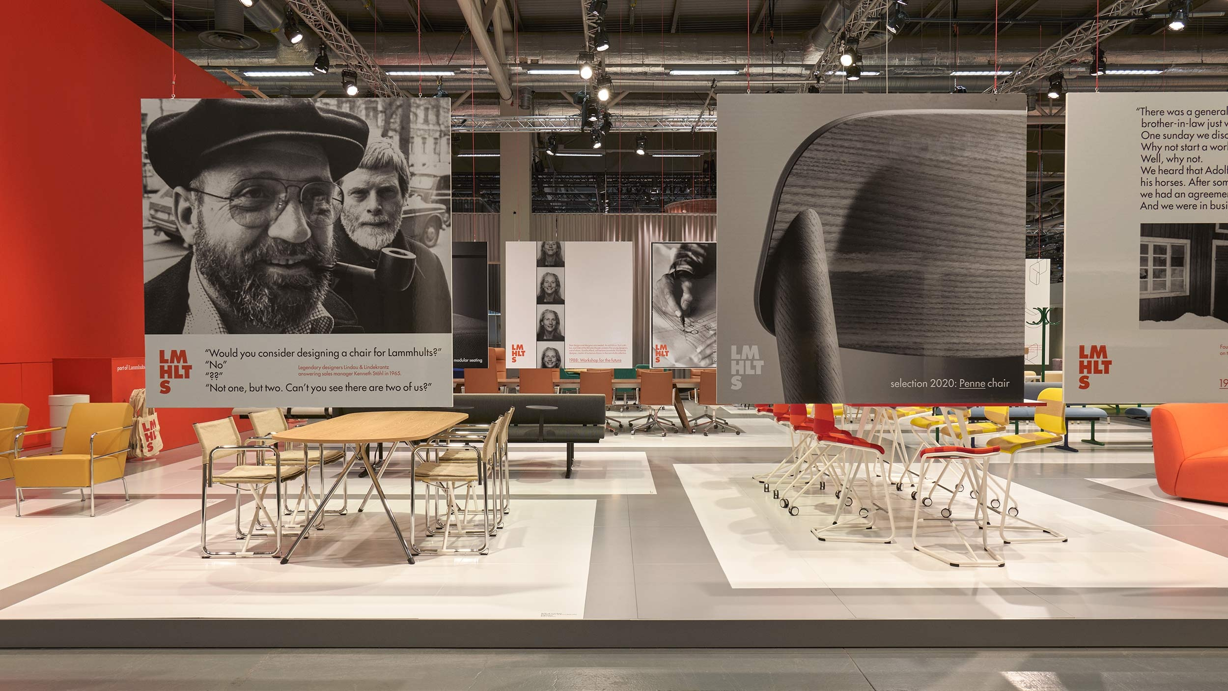Lammhults – stand & exhibition design