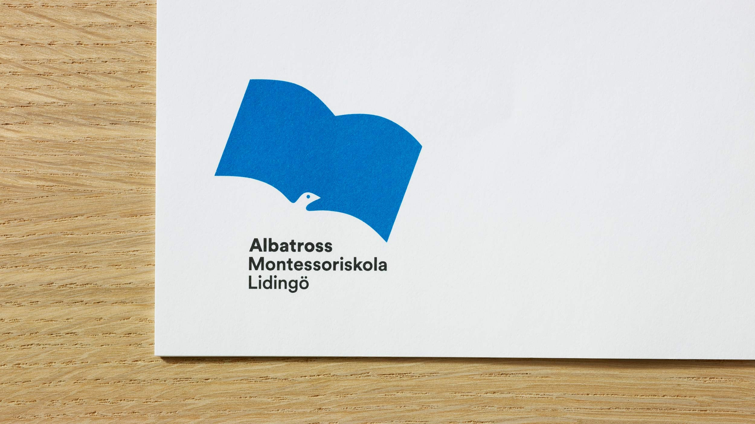 Albatross Montessori School – graphic identity