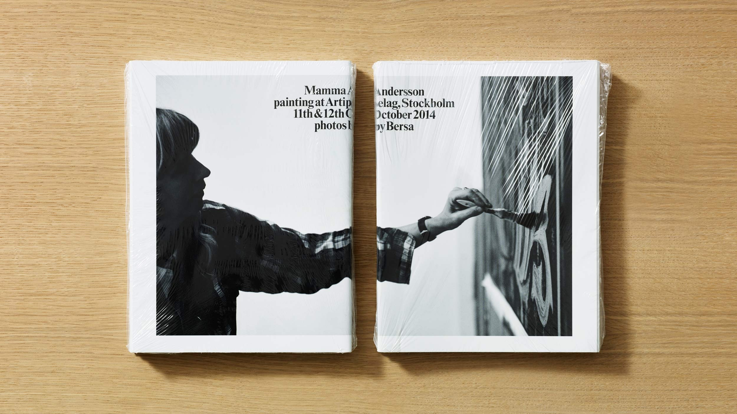 Mamma Andersson – publication design