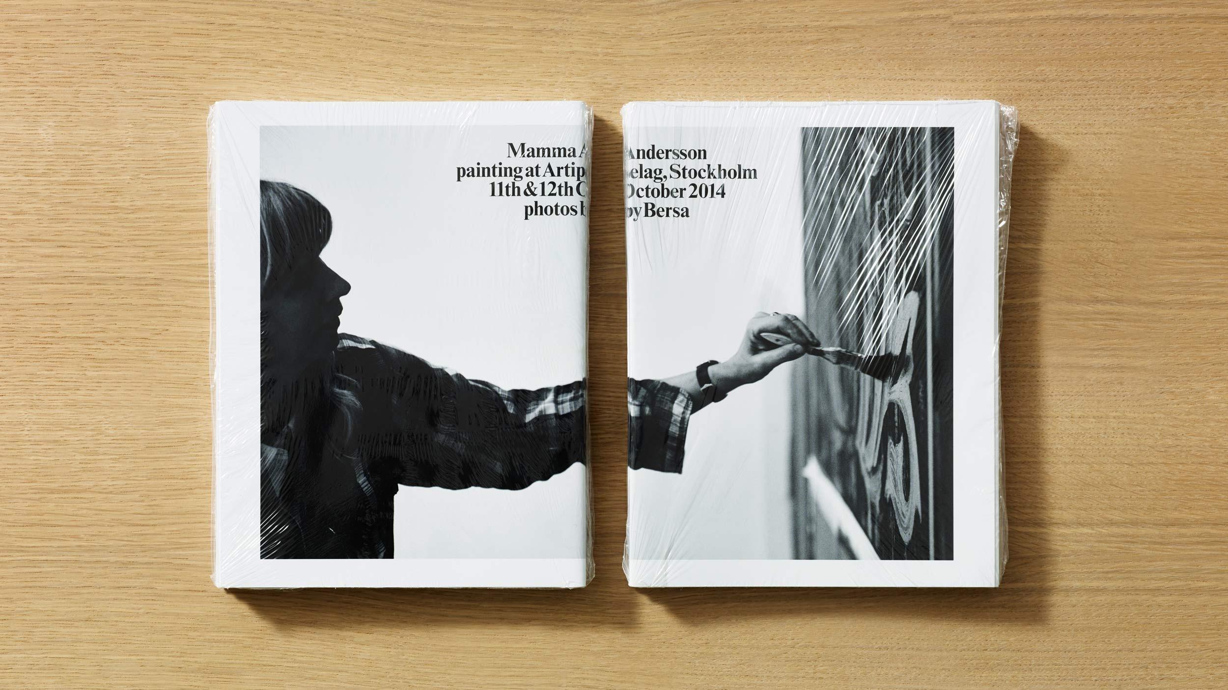 Mamma Andersson – publication design